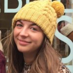 Yellow Cabled Hat With Bobble Free Knitting Pattern