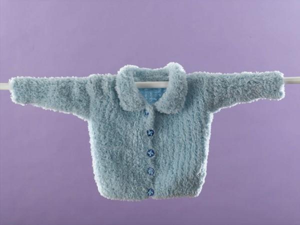 Bambi Baby Cardigan Free Knitting Pattern
