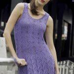 Bellevue Tunic in Rain Free Lace Knitting Pattern