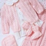 Knitting for Babies Pink Layette Free Knitting Pattern