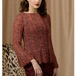 Ritratto Scalloped Ribbed Pullover Free Knitting Pattern