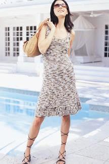 Venezia Dress Free Knitting Pattern