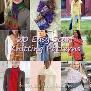 free Easy Scarf Knitting Patterns