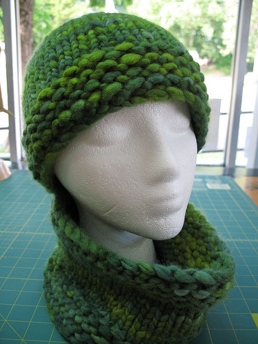 5-hour Hat and Gaiter Free Knitting Pattern