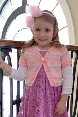 Baby Angel Girl's Cropped Cardigan