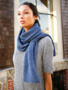 Free easy scarf knitting pattern