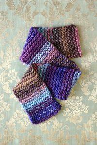 free easy garter stitch scarf