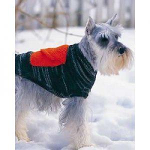 Dog Coat With Cargo Pockets Free Knitting Pattern