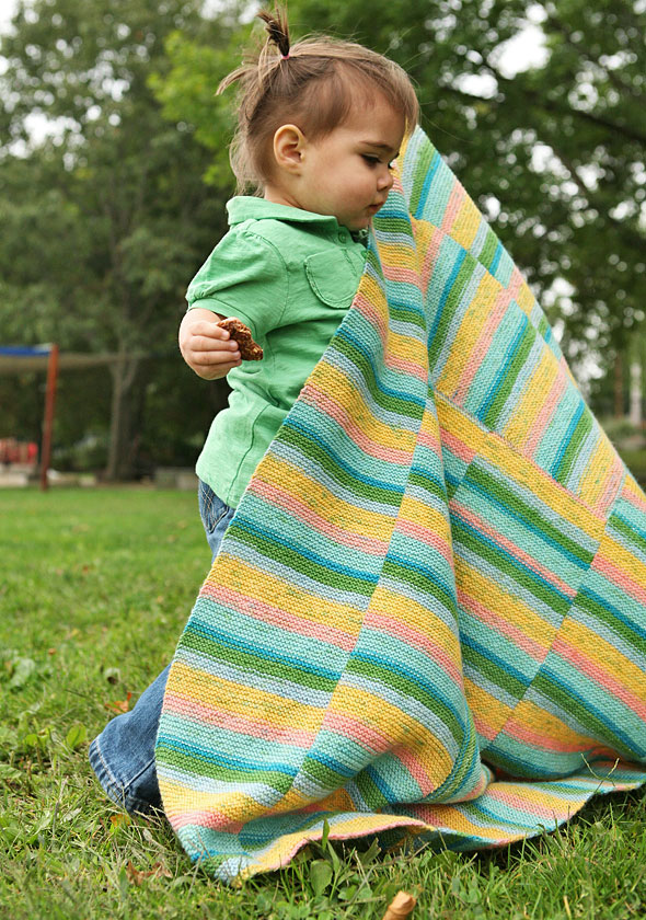 Easy Baby Blanket Knitting Patterns 1