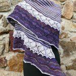 Frou Frou Shawl Free Knitting Pattern