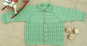 Heirloom Baby Cardigan Free Knitting Pattern