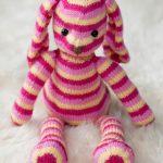 Hop Along Bunny Free Knit Pattern
