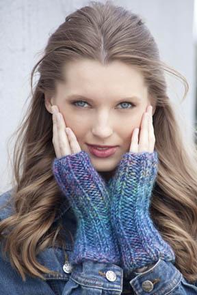 It's Too Late Wristwarmers Free Knitting Pattern