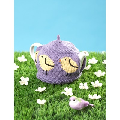 Little Chicks Tea Cozy Free Knitting Pattern