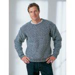 Men's Dropshoulder Sweater Free Knitting Pattern