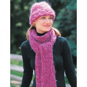 Patons Hat & Scarf Free Knitting Pattern