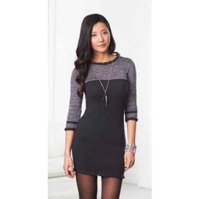 Patons Little Black Dress Free Knitting Pattern