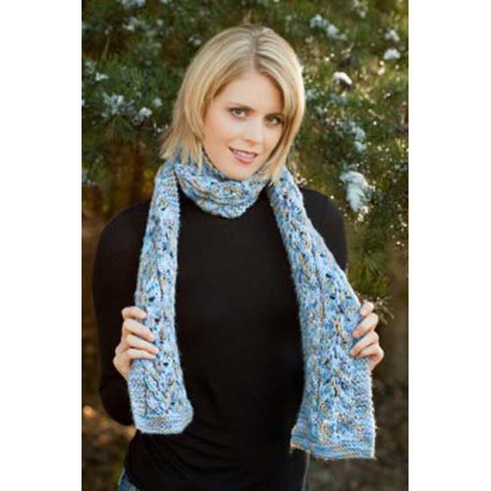 14+ Free Lace Scarf Knitting Patterns ⋆ Knitting Bee