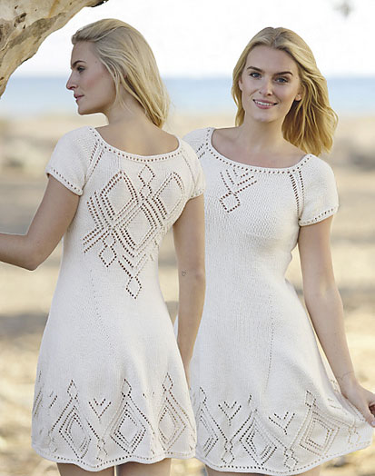 Summer Feeling Free Lace Knitting Pattern