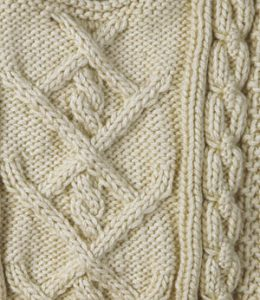 Baby Poonam Cabled Sweater Free Knitting Pattern baby aran sweater
