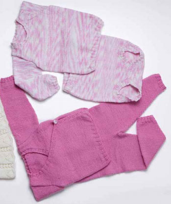 Baby Ull Underwear Set Free Knitting Pattern