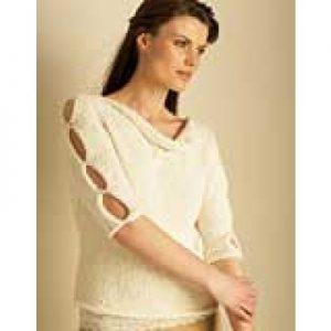Bamboo Top Free Easy Women's Sweater Knit Pattern