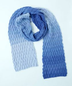 Basketweave Knit Scarf Free Knitting Pattern