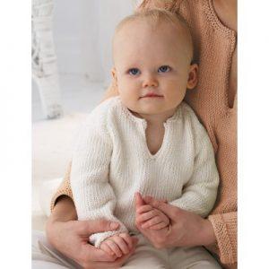 Bernat Baby's Pullover Free Knitting Pattern