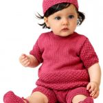 Cotton Soft Baby Ensemble Free Knitting Pattern
