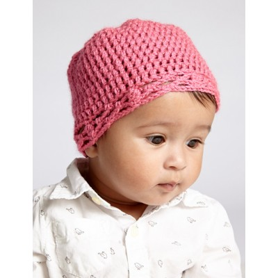 Crochet Baby Hat free pattern beginner