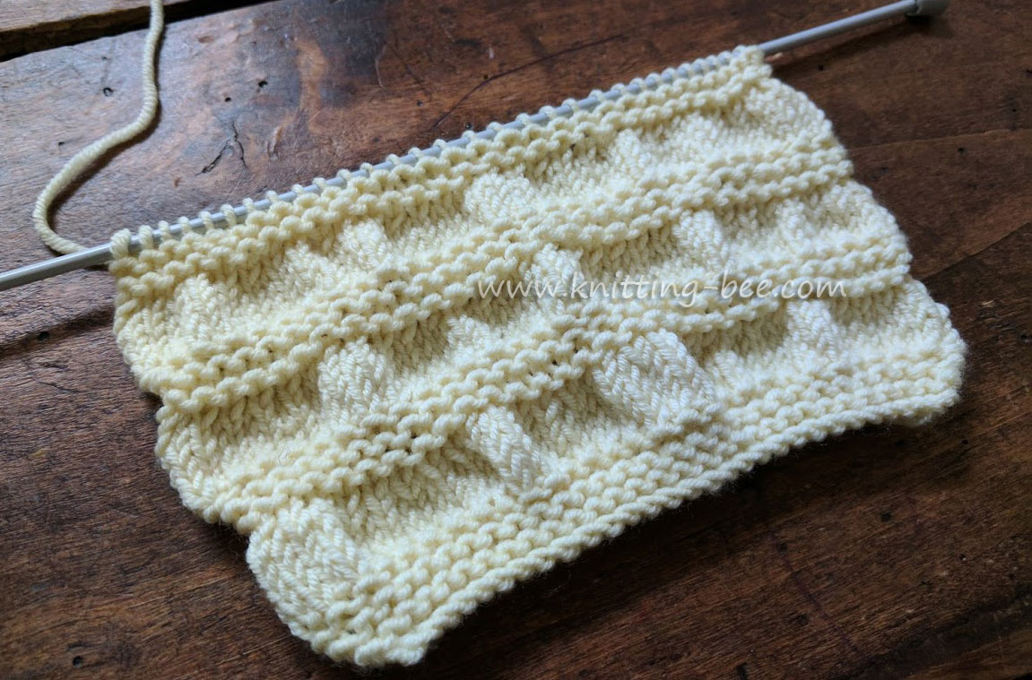 Gathered Stitch Knitting https://www.knitting-bee.com