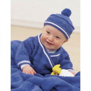 Patons Diamond Set Free Baby Knitting Pattern