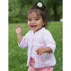 Pretty Kiddy Cardigan Free Intermediate Baby's Knit Pattern
