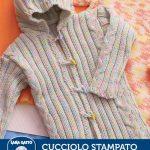 Ribbed Baby Coat Free Knitting Pattern