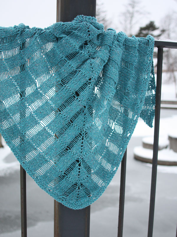 Windlass Shawl Free Knitting Pattern