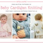Baby Cardigan Knitting Patterns Free UK by http://www.knitting-bee.com