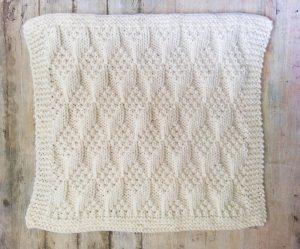 Bulky Baby Blocks Blanket