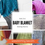Bulky Yarn Baby Blanket Knitting Patterns www.knitting-bee.com