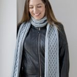 Cable Knit Chunky Yarn Scarf Knitting Pattern Free