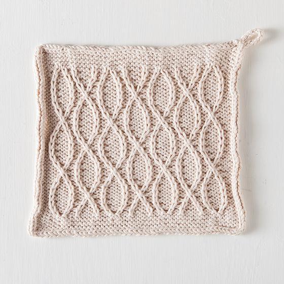 Ceramic Dishcloth Free Knitting Pattern