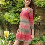 Free Knitted Sun Dress Pattern