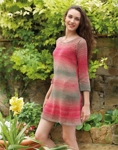 Free Knitted Sun Dress Pattern