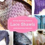 18 Beautiful Free Lace Shawl Knitting Patterns