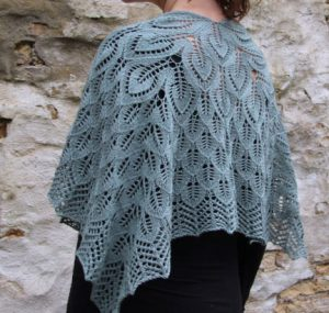 free lace shawl pattern knitting