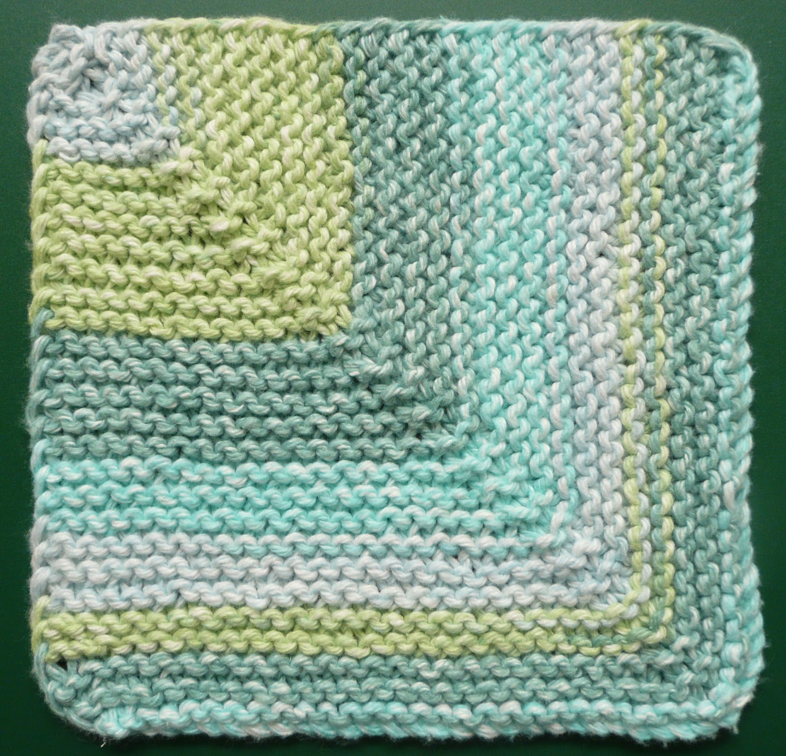 Go Round The Barn One Ounce Dishcloth Free Knitting