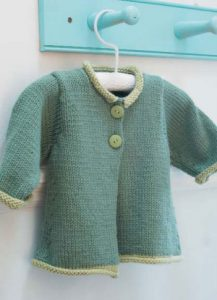 Gwen Baby Jacket Free Knitting Pattern
