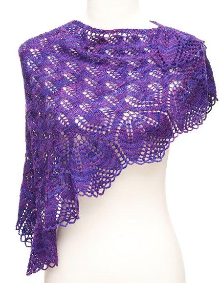 Free Lace Shawl Knitting Patterns