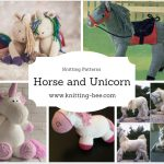 Horse and Unicorn Knitting Patterns http://www.knitting-bee.com/