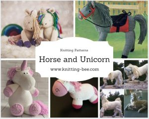 Horse and Unicorn Knitting Patterns