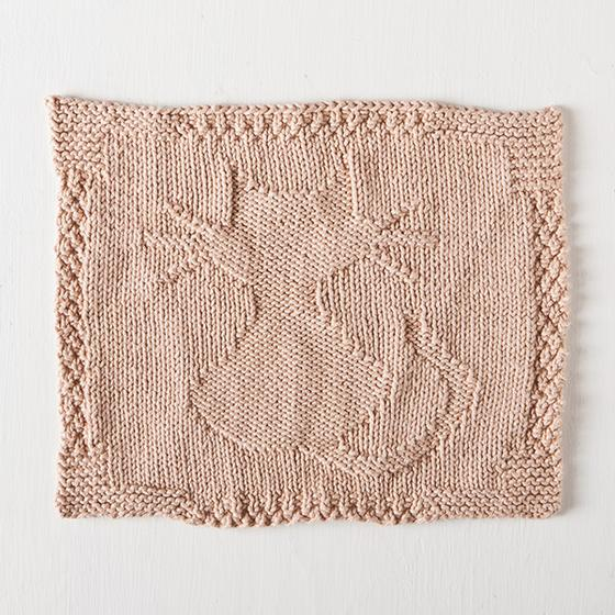 Kitten Kaboodle Dishcloth Free Knitting Pattern